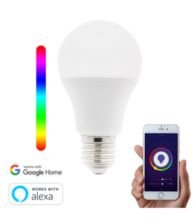 Bombilla Inteligente WiFi LED Alexa Google 7W