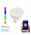 Bombilla WiFi Inteligente LED RGBW GU5.3/MR16 5W