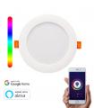 Downlight WiFi LED Circular 20W RGBW