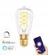Bombilla LED WiFi Filamento Espiral ST64 E27 8W