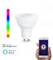 Lâmpada WiFi LED GU10 5W RGBW