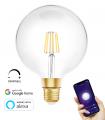 Bombilla LED WiFi Filamento G125 E27 8W