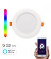 Downlight Inteligente WiFi LED Circular RGBW 17W
