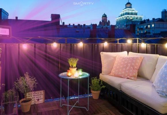 Cómo ambientar tu terraza con Focos WiFi