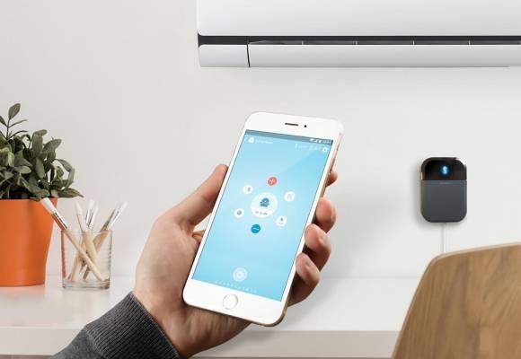 Controla el aire acondicionado (y demás) desde el móvil: Controlador IR WiFi